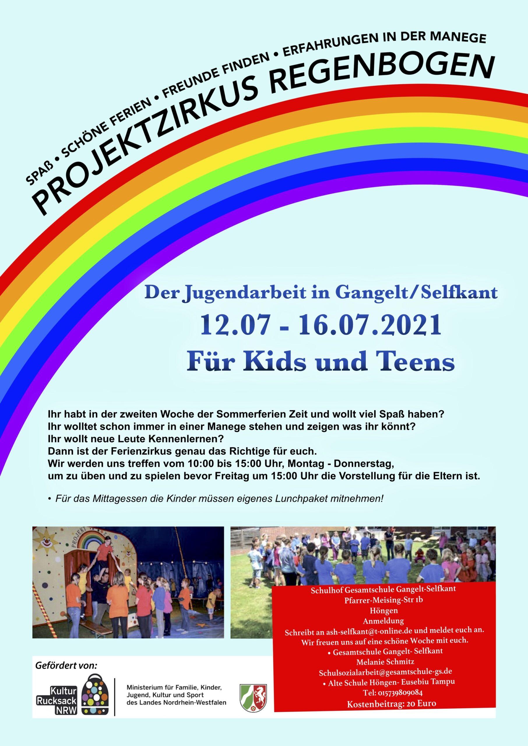 Zirkusprojekt Regenbogen