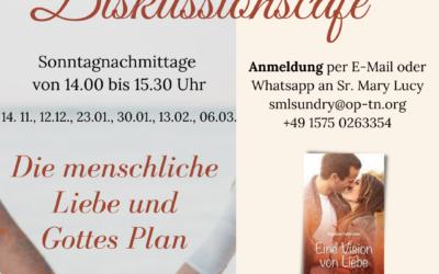 Diskussionscafé  Die menschliche Liebe und Gottes Plan