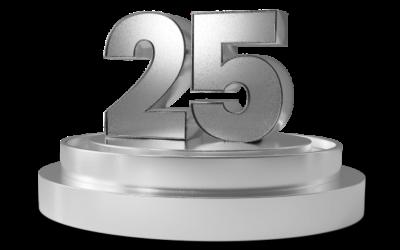 Einladung zum 25 jährigen Ortsjubiläum